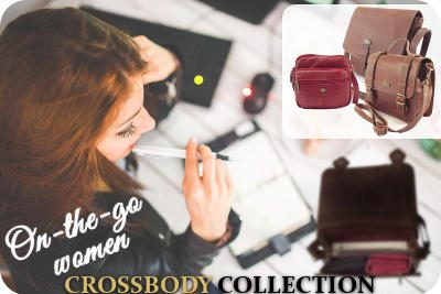 Genuine leather bags and leather crossbody handbags by Der Lederhandler, George, Western Cape