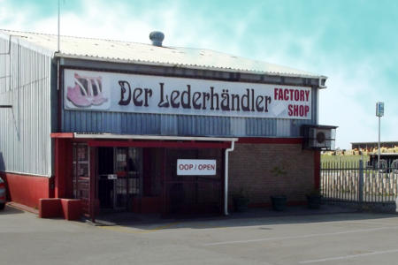 Leather product manufacturer and store, George, Western Cape
