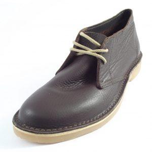 HP1422 Hunter Men's Vellie - full-grain genuine leather men's desert shoes by Der Lederhandler
