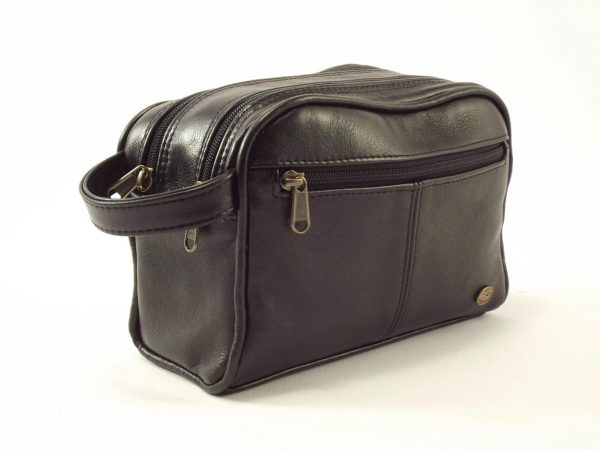 HP326 Toiletry Bag Small - toiletry bag women by Der Lederhandler