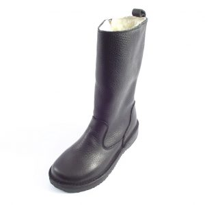 ca3da2a38 HP796Z Eskimo boots - full-grain genuine leather ladies winter boots by Der  Lederhandler ...