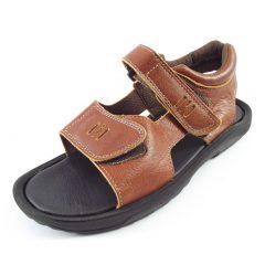 HP8045L Heino - full-grain genuine leather men outdoor sandals by Der Lederhandler