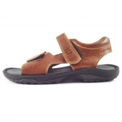 HP8045L Heino - full-grain genuine leather men outdoor sandals by Der Lederhandler