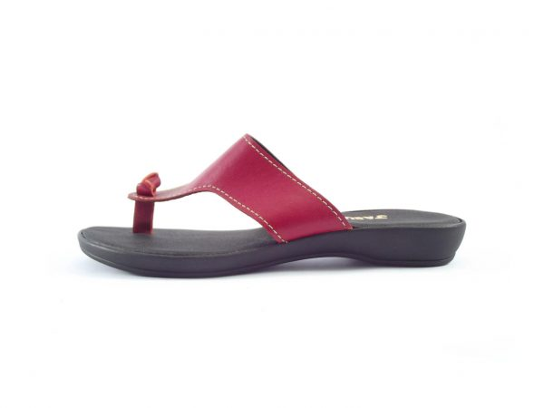 HP8066 Marlize - women's leather thong sandals by Der Lederhandler
