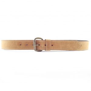 HPGG009 Rustic Stiff Double Stitch - best leather belts men by Der Lederhandler