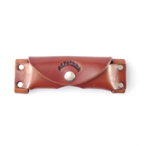 HPGG021 Knife Pouch Horizontal X Large - genuine leather knife pouch by Der Lederhandler