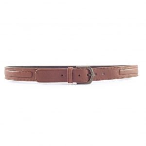 HPGG059 Kudu Piping - luxury leather belts men by Der Lederhandler