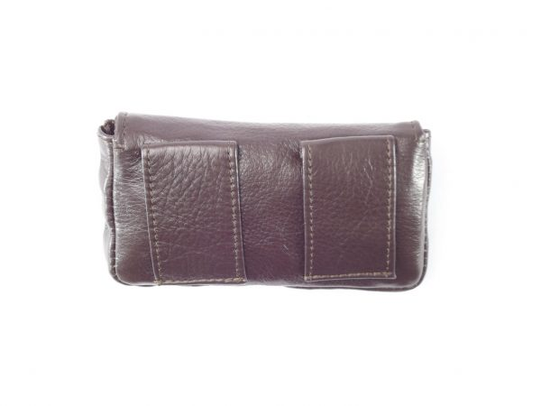 HPGG2013AST Cell Phone Pouch Samsung 3 With Flap - phone belt pouch by Der Lederhandler