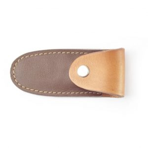 HPGG310AS Knife Pouch Paso - genuine leather knife sheath by Der Lederhandler