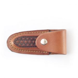 HPGG320AS Knife Pouch Bronco - leather pocket knife sheath by Der Lederhandler