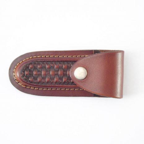 HPGG330AS Knife Pouch Gringo - Leather knife pouch by Der Lederhandler