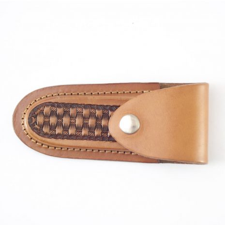 HPGG34 Knife Pouch Gaucho - leather knife case by Der Lederhandler