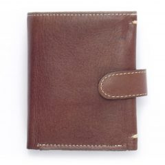 Wallet Men's Three HPMW03WTST - genuine leather credit card holder wallet by Der Lederhandler