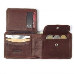 Wallet 14 Cards HPMW05NTKU - men's leather card holder by Der Lederhandler