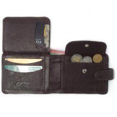 Wallet 14 Cards HPMW05WTKU - genuine leather card holder for men by Der Lederhandler
