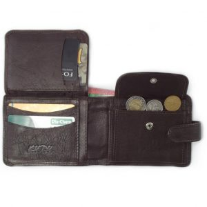 Wallet 14 Cards HPMW05WTKU - genuine leather card holder for men by Der Lederhandler