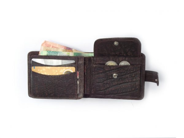 Wallet 14 Cards HPMW05WTKUZ - men leather card holder by Der Lederhandler