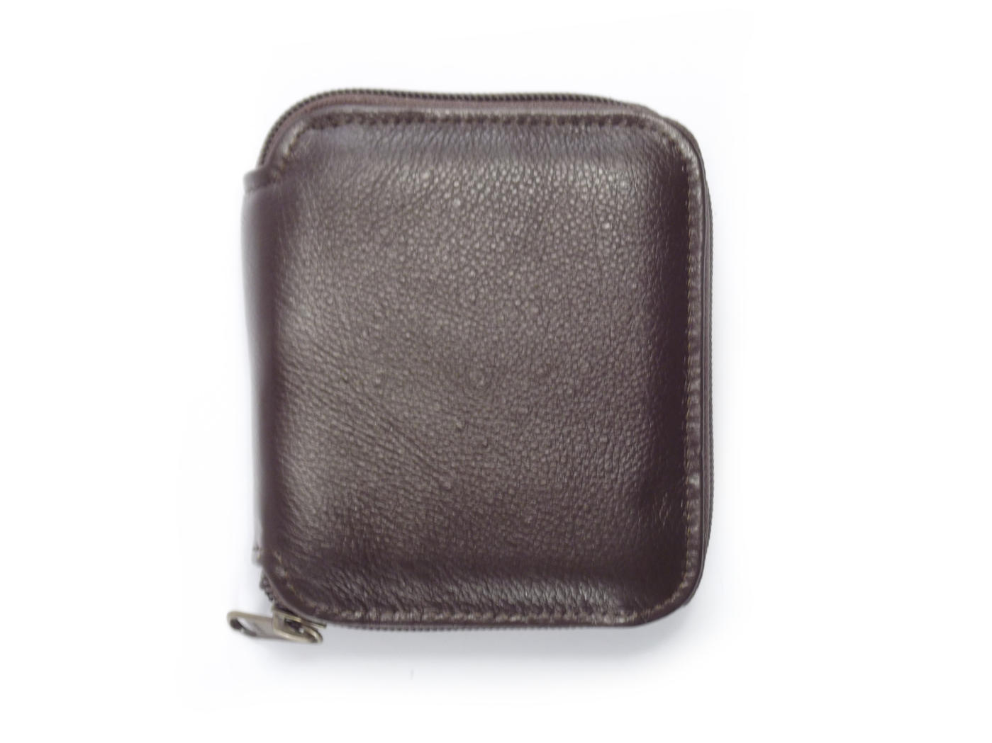Wallet Men s ID Zip Around HPMW06ZKU - genuine leather men wallet zipper by  Der Lederhandler 693ae61b6