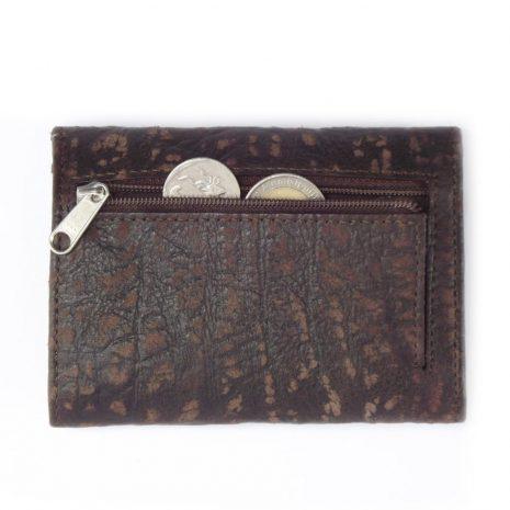 Wallet Men's Seven HPMW07KU - genuine leather wallet with zip by Der Lederhandler