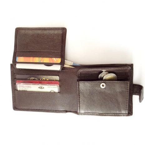 Wallet 10 Cards HPMW16WTKU - bifold credit card wallet by Der Lederhandler