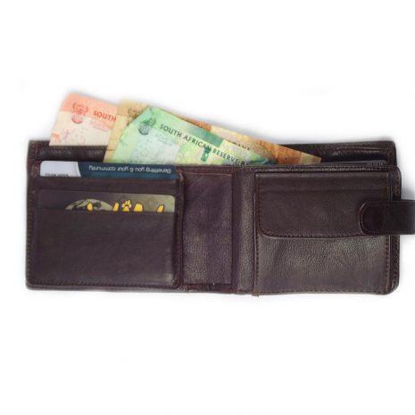 Wallet 16 Cards HPMW18WTKU - mens leather credit card wallet by Der Lederhandler