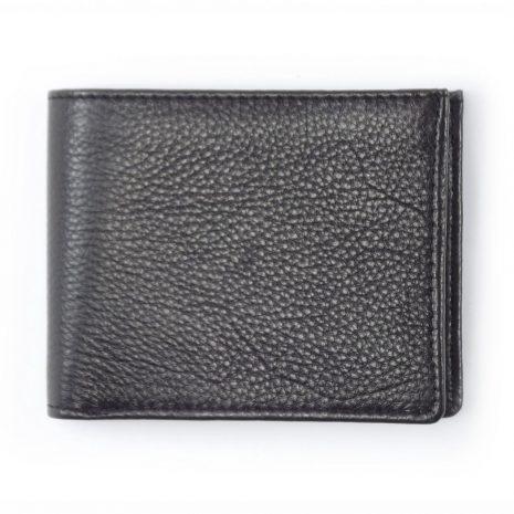 Wallet 3 Cards HPMW20NTKU - full-grain genuine leather bifold wallet for men by Der Lederhandler