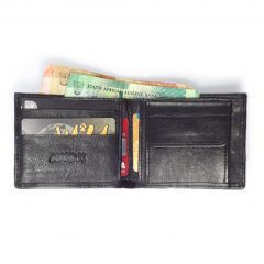 Wallet 3 Cards HPMW20NTKU - full-grain genuine leather bifold wallet for men by Der Lederhandler