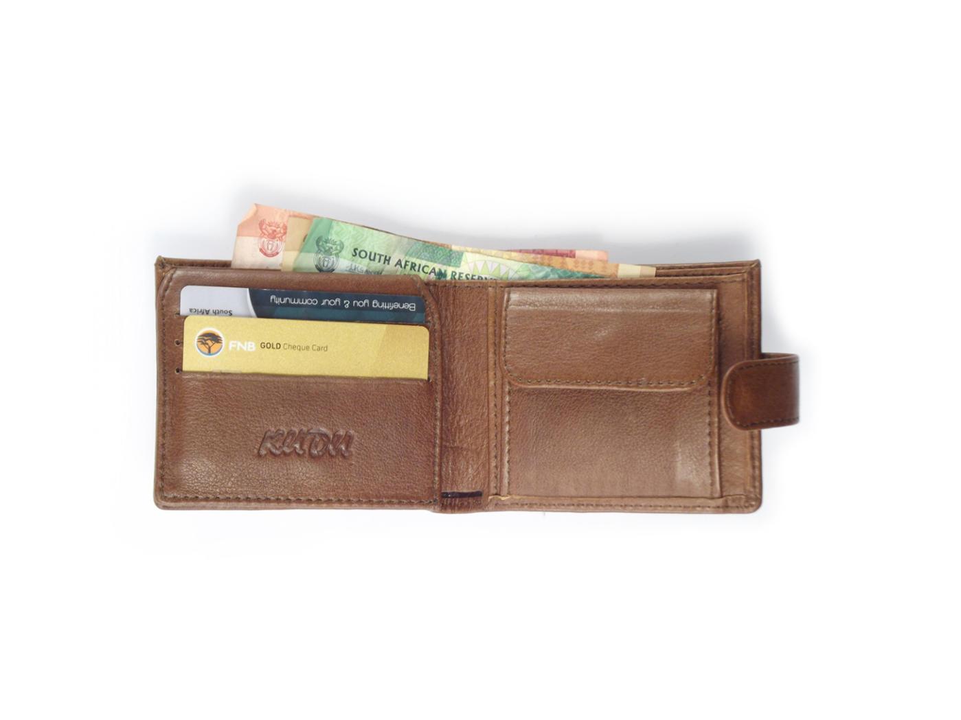 f65a2125988b Wallet 6 Cards HPMW21WTKU - mens credit card holder in genuine leather by Der  Lederhandler