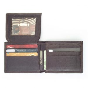 Wallet 6 Cards HPMW22NTKU - men's leather business card holder by Der Lederhandler
