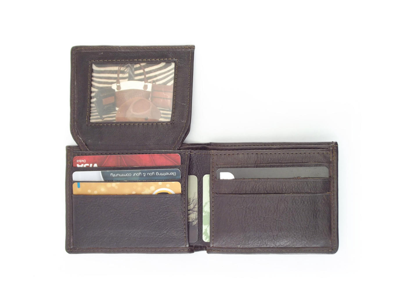 Men\'s leather business card wallet | Der Lederhandler