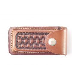 HPSGG35SPEC Knife Pouch Champion Special - pocket knife belt pouch by Der Lederhandler