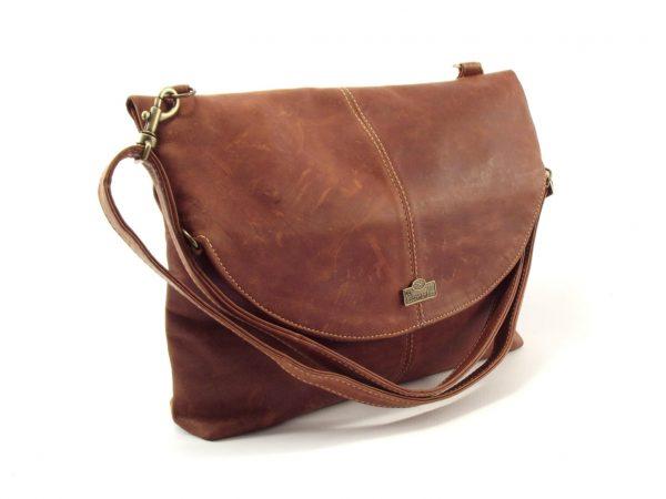 HP7125 Simone - convertible genuine leather shoulder sling bag by Der Lederhandler