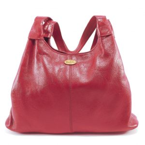 HP7133 Ashleigh Plain - a medium hobo leather handbag for women by Der Lederhandler
