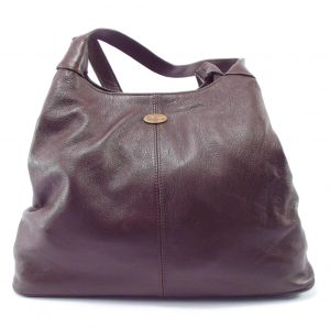 Ashleigh plain large HP7175 - large hobo leather handbag for women by Der Lederhandler