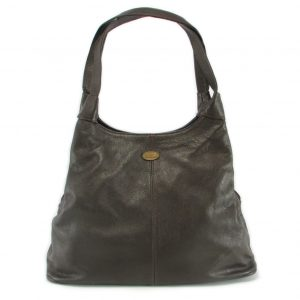 Ashleigh Plain Large HP7175 front classic handbag leather bags women, Der Lederhandler, George, Western Cape