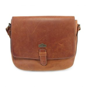 Brenda HP7260 front crossbody handbag leather bags women, Der Lederhandler, George, Western Cape