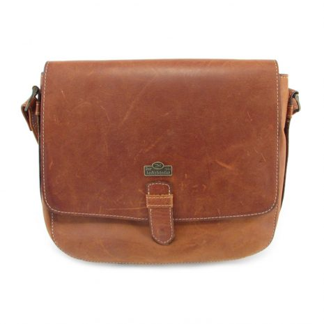 Brenda HP7260 front crossbody handbag leather bags women, Der Lederhandler, George, Western Cape