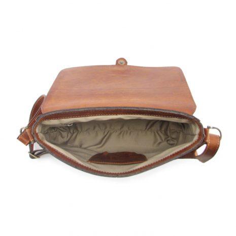 Brenda HP7260 inside crossbody handbag leather bags women, Der Lederhandler, George, Western Cape