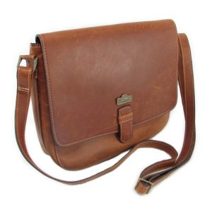 Brenda HP7260 side crossbody handbag leather bags women, Der Lederhandler, George, Western Cape