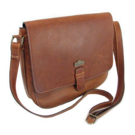 Brenda HP7260 side crossbody handbag leather bags women, Der Lederhandler, George, Western Cape