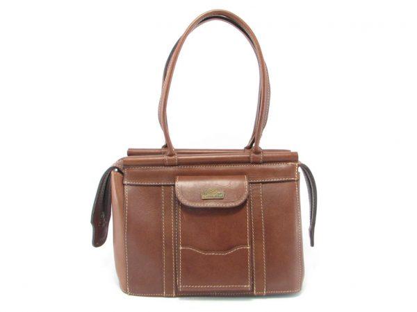 Clerissa HP168 long classic handbag leather bags women, Der Lederhandler, George, Western Cape