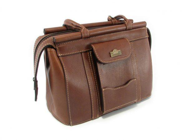 Clerissa HP168 side classic handbag leather bags women, Der Lederhandler, George, Western Cape
