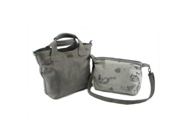 Demi HP7226 side 2 classic handbag leather bags women, Der Lederhandler, George, Western Cape