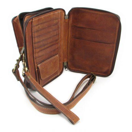 Gents Organiser No 3 HP7261 inside leather wallet bags, Der Lederhandler, George, Western Cape