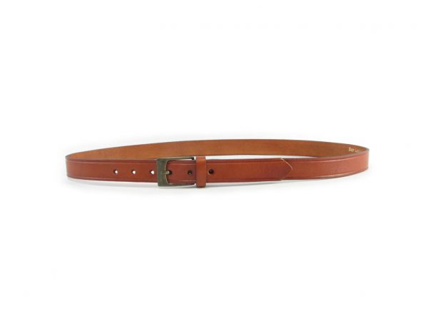 HP0002 Plain Veg belts men, Der Lederhandler, George, Western Cape