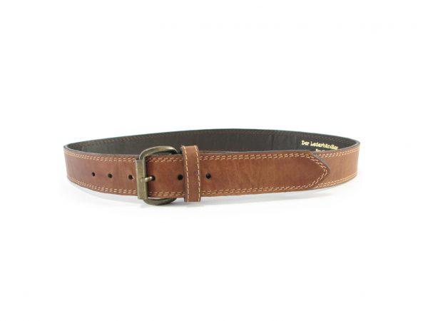 HPGG009 Rustic Double Stitch belts men, Der Lederhandler, George, Western Cape