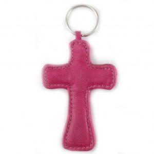 HPGG2040AST Keyholder Cross by Der Lederhandler, George, Western Cape