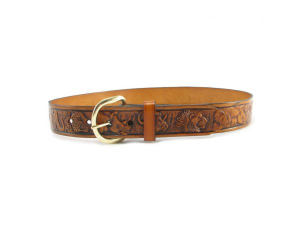 HPHUR006 Big Five belts men, Der Lederhandler, George, Western Cape
