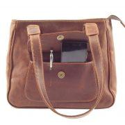 Isabel HP7287 - Double handle square handbag