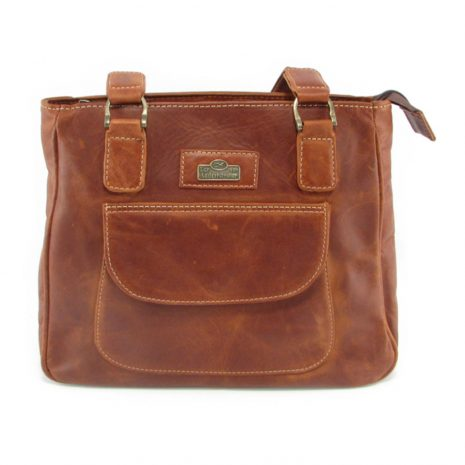 Isabel HP7287 front classic handbag leather bags women, Der Lederhandler, George, Western Cape